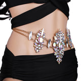 All Over Your Body Crystal Bodychain - Trendi Fashions Boutique