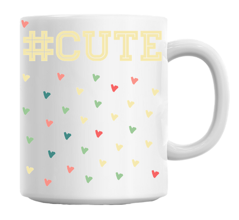 Cute Hashtag Mug - Trendi Fashions Boutique