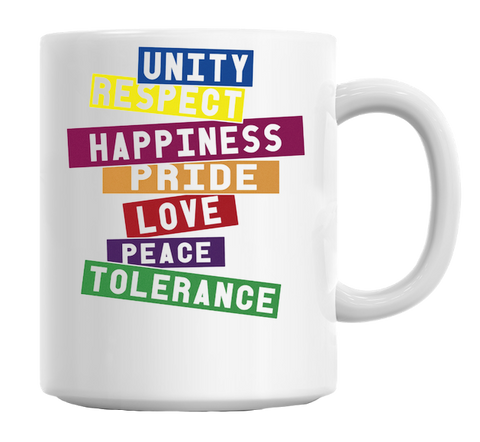 Seven Values Mug - Trendi Fashions Boutique