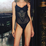 Lace Underwire Bodysuit - Trendi Fashions Boutique