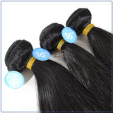 Brazilian Virgin Hair Straight - 3 BUNDLE DEAL
