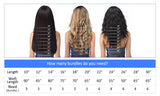 Brazilian Virgin Hair Straight - 3 BUNDLE DEAL - Trendi Fashions Boutique