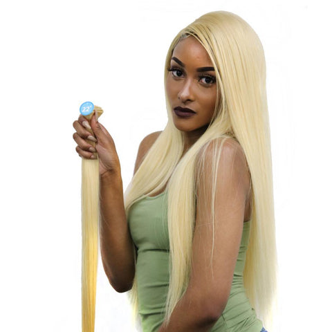 Brazilian Blonde Straight Hair - Trendi Fashions Boutique