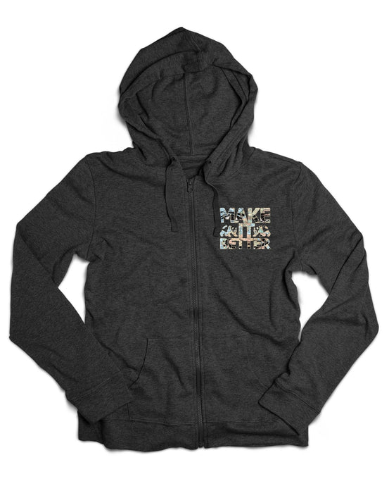 Make It Better Hoodie - Charcoal