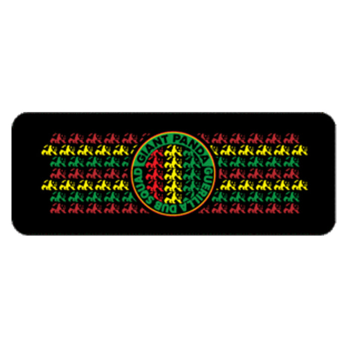 Multi Rasta Circle Logo Slap Koozie