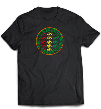 Rasta Circle Logo - Black