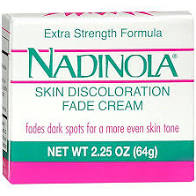 Nadinola Fade Cream For Dry Skin 2.25 Oz