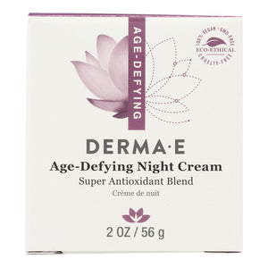 Derma E Age-Defying Night Creme with Astaxanthin and Pycnogenol - 2 oz