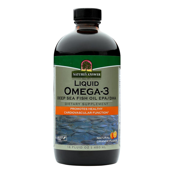 Nature's Answer Liquid Omega-3 Fish Oil - 16 fl oz