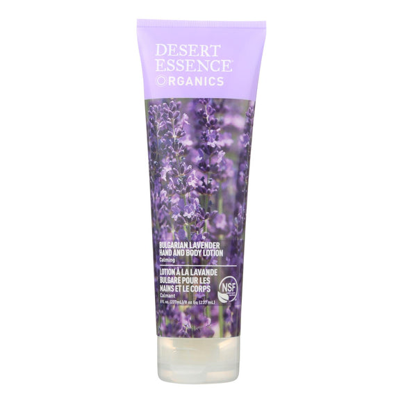 Desert Essence Hand and Body Lotion Bulgarian Lavender - 8 fl oz