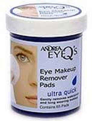 Andrea Eye Qs Makeup Remover Pads Ultra Quick 65 Pads
