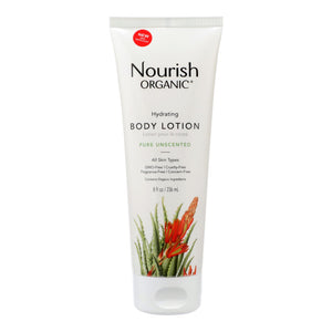 Nourish Organic Body Lotion Pure Unscented - 8 fl oz