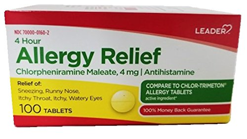 Allergy Relief Tblts 4mg***Ldr
