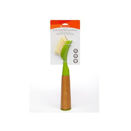 Full Circle Home - Suds Up Dish Brush - Green - Case of 12 - 2 Count