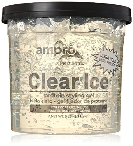 Ampro Pro Styl Clear Ice Protein Styling Gel Ultra Hold 5 Lb