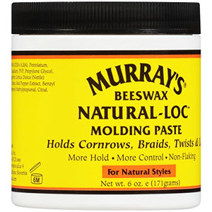 Murrays Beeswax Natural Loc Molding Paste 6 Oz