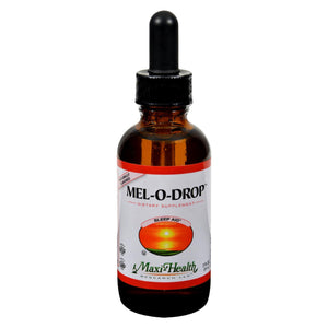 Maxi Health Kosher Vitamins Mel O Drop Liquid Melatonin Drops - 2 oz