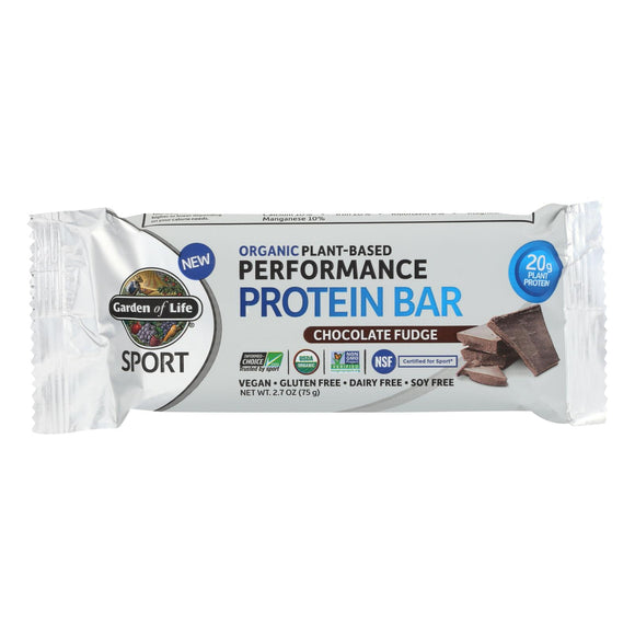 Garden Of Life - Sport Protein Bar - Chocolate Fudge - 2 - 2.7 OZ