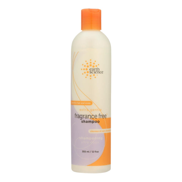 Earth Science Pure Essentials Shampoo Fragrance Free - 12 fl oz