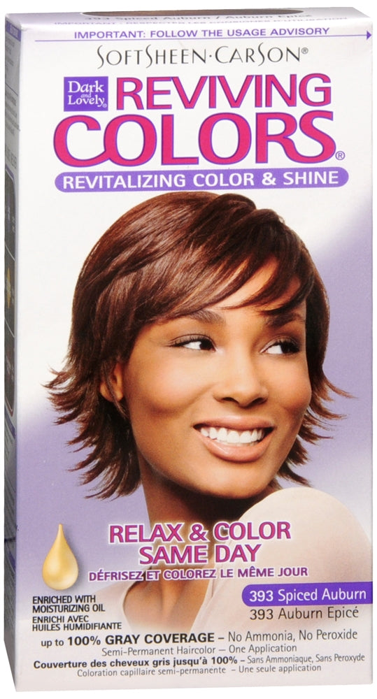 Dark & Lovely Reviving Colors Nourishing Colors & Shine Spicy Auburn