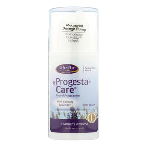 Life-Flo Progesta-Care Body Cream with Calming Lavender - 4 fl oz