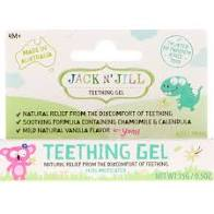 Jack N' Jill Kids - Natural Teething Gel - 0.5 oz.