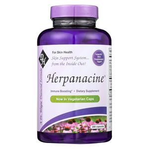 Diamond-Herpanacine Total Skin Support System - 200 Capsules