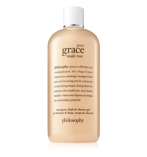 Philosophy Pure Grace Nude Rose 8 Oz Shampoo  Bath & Shower Gel
