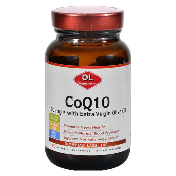 Olympian Labs Coenzyme Q10 - 100 mg - 90 Softgels