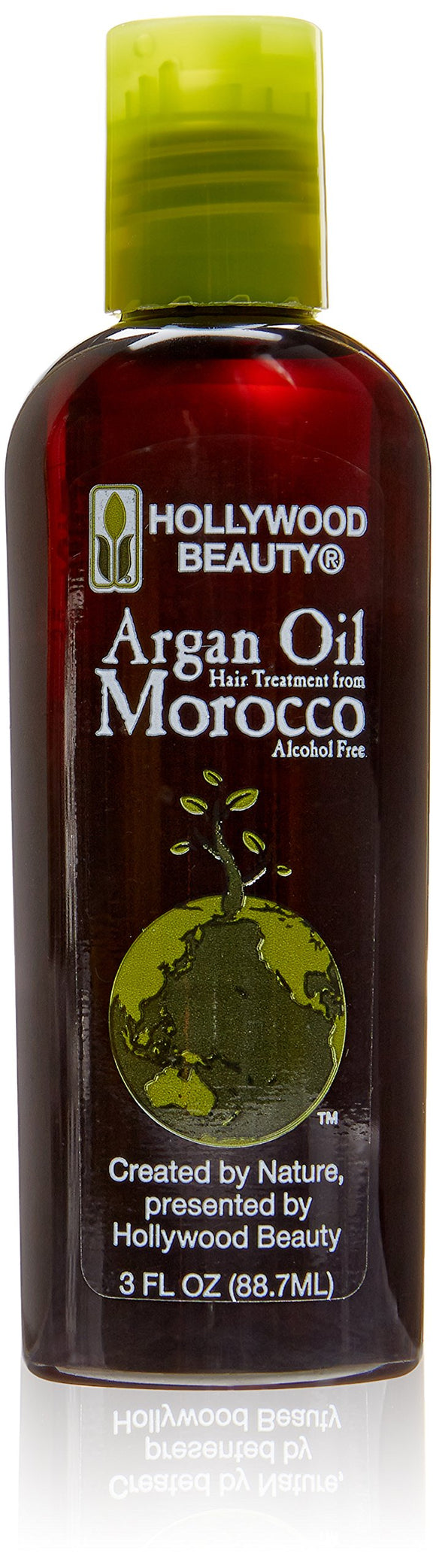 Hollywood Beauty Argan Oil Hair Treatment From Morocco Alcohol Free 3 Fl Oz