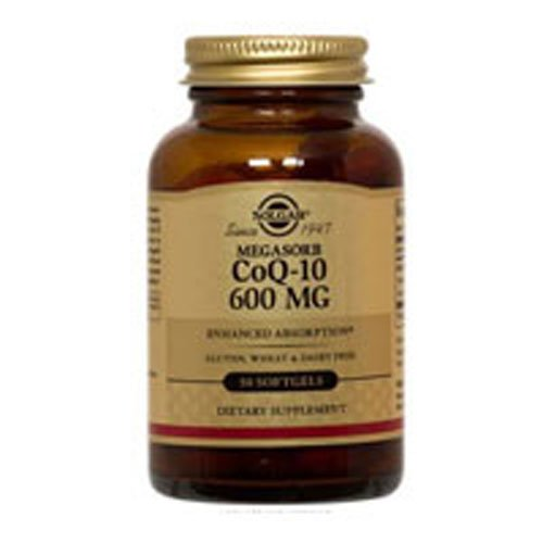 Solgar Megasorb Coq-10 600 Mg Softgels