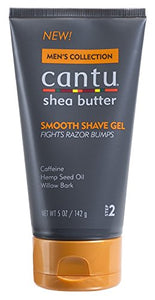 Mens Collection Cantu Shea Butter Smooth Shave Gel 5 Oz