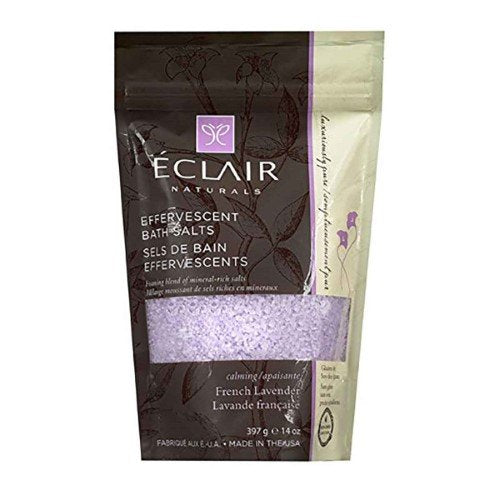 Eclair Naturals Effervescent Bath Salts - French Lavender - 14 oz.