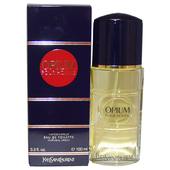Opium by Yves Saint Laurent for Men - 3.3 oz EDT Spray