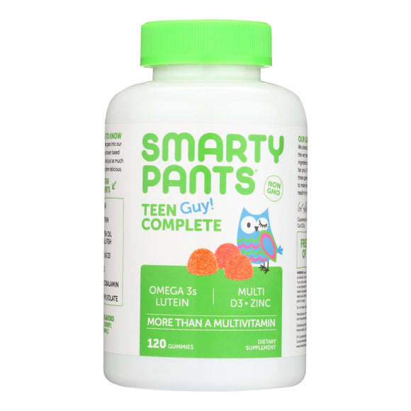 Smartypants Gummy Multivitamin -Teen Guy Complete - 120 count