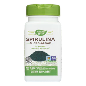 Nature's Way Spirulina Micro-Algae - 100 Capsules
