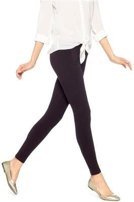 Nn Cotton Leggings Blk Lrg
