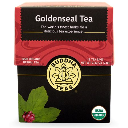 Buddha Teas - Organic Tea - Goldenseal -  - 18 Count