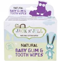 Jack N' Jill Kids - Baby Gum and Tooth Wipes - 25 Count