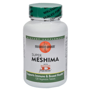 Mushroom Wisdom Super Mashima with Maitake D-fraction - 120 Vegetable Tablets