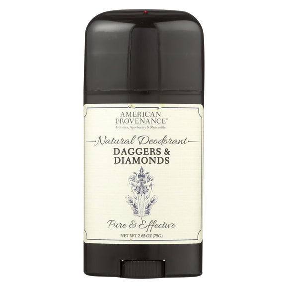 American Provenance - Deodorant - Daggers and Diamonds - 2.65 oz.