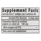 North American Herb and Spice Oreganol Oil of Oregano Super Strength - 60 Softgels