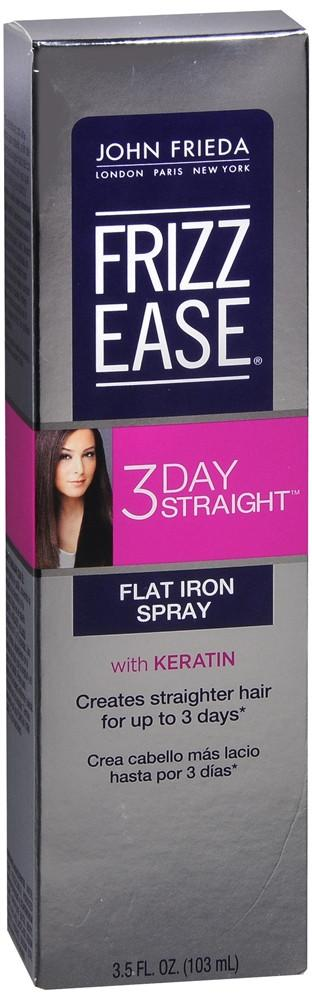 John Frieda Frizz Ease 3 Day Straight Flat Iron Spray With Keratin 3.5 Fl Oz