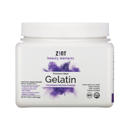 Zint Nutrition - Gelatin Beef Container - 1 Each - 1 LB