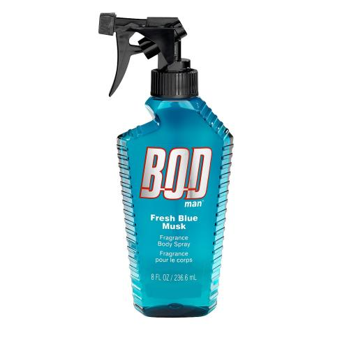 Bod Fresh Blue Musk 8 Oz Fragrance Body Spray