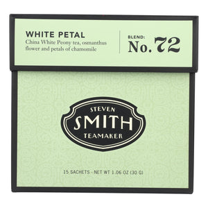 Smith Teamaker White Tea - White Petal - 15 Bags