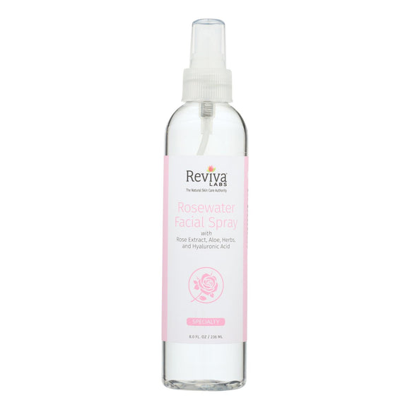 Reviva Labs Facial Spray Rosewater - 8 fl oz