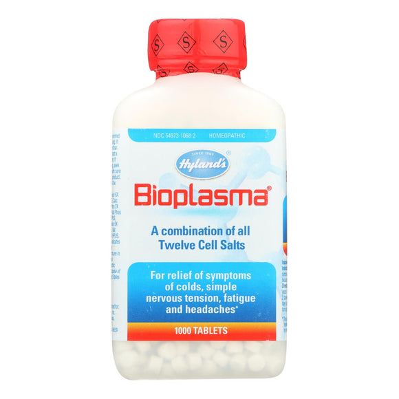Hylands Homeopathic Bioplasma Cell Salts - 1000 Tablets
