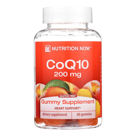 Nutrition Now CoQ10 Adult Gummy Vitamin - 60 Gummy Vitamins