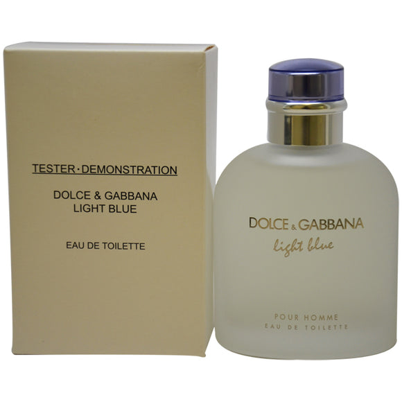 Light Blue by Dolce and Gabbana for Men - 4.2 oz EDT Spray (Tester)